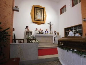 Misa zadušnica i sprovod s. Marije od sv. Josipa, OCD